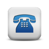 117037-matte-blue-and-white-square-icon-business-phone-solid